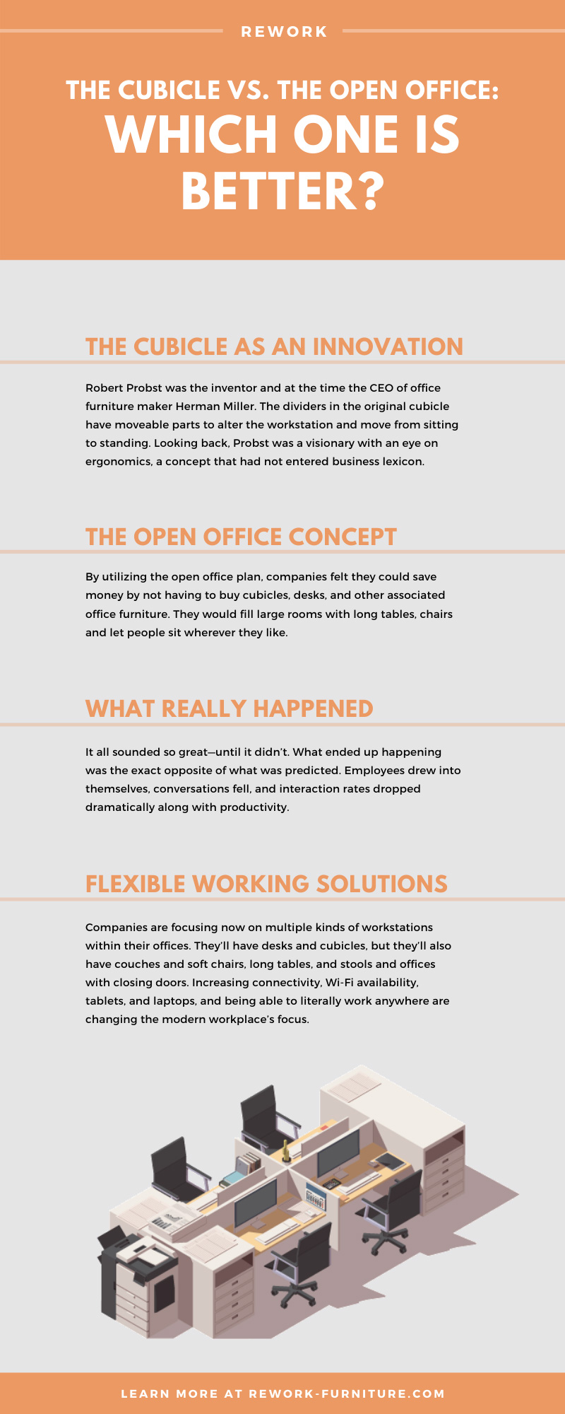 The Cubicle vs. The Open Office